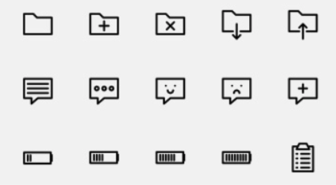 150 outlined icons 2