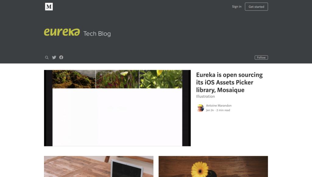 eureka Tech Blog